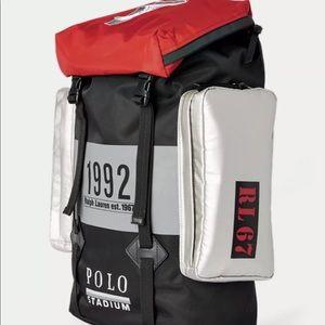63706db92b47 Ralph Lauren Bags - Ralph Lauren Polo Winter Stadium Back Pack. NWT.